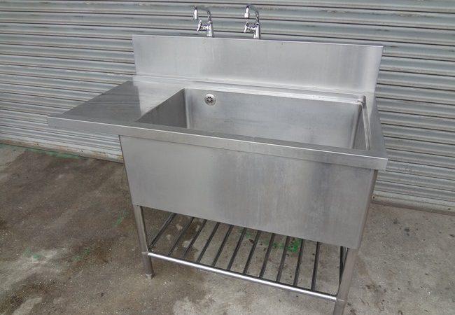 食器洗浄機用1槽シンク