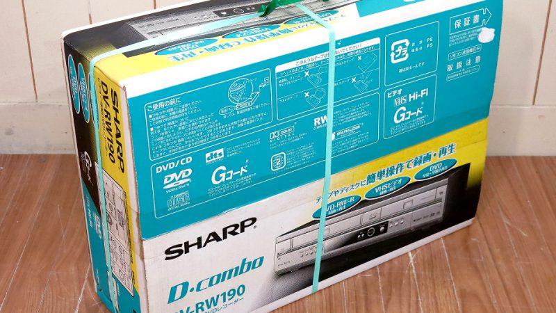 シャープ DVDレコーダー/未使用